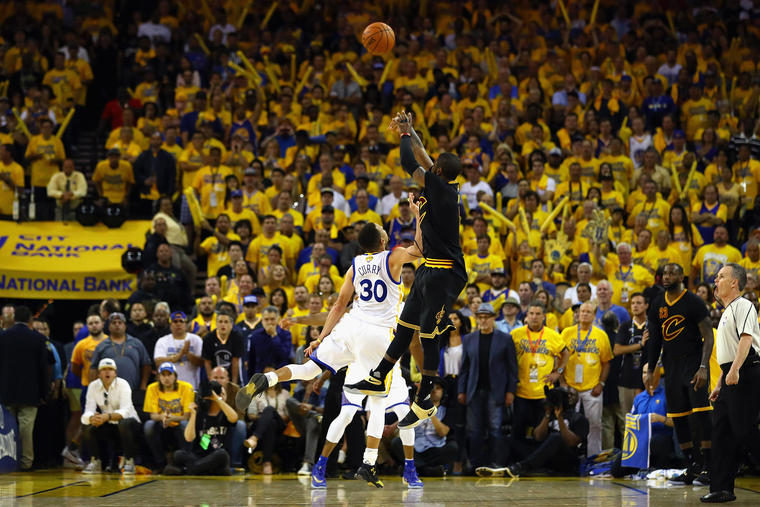 Image: 2016 NBA Finals - Game Seven