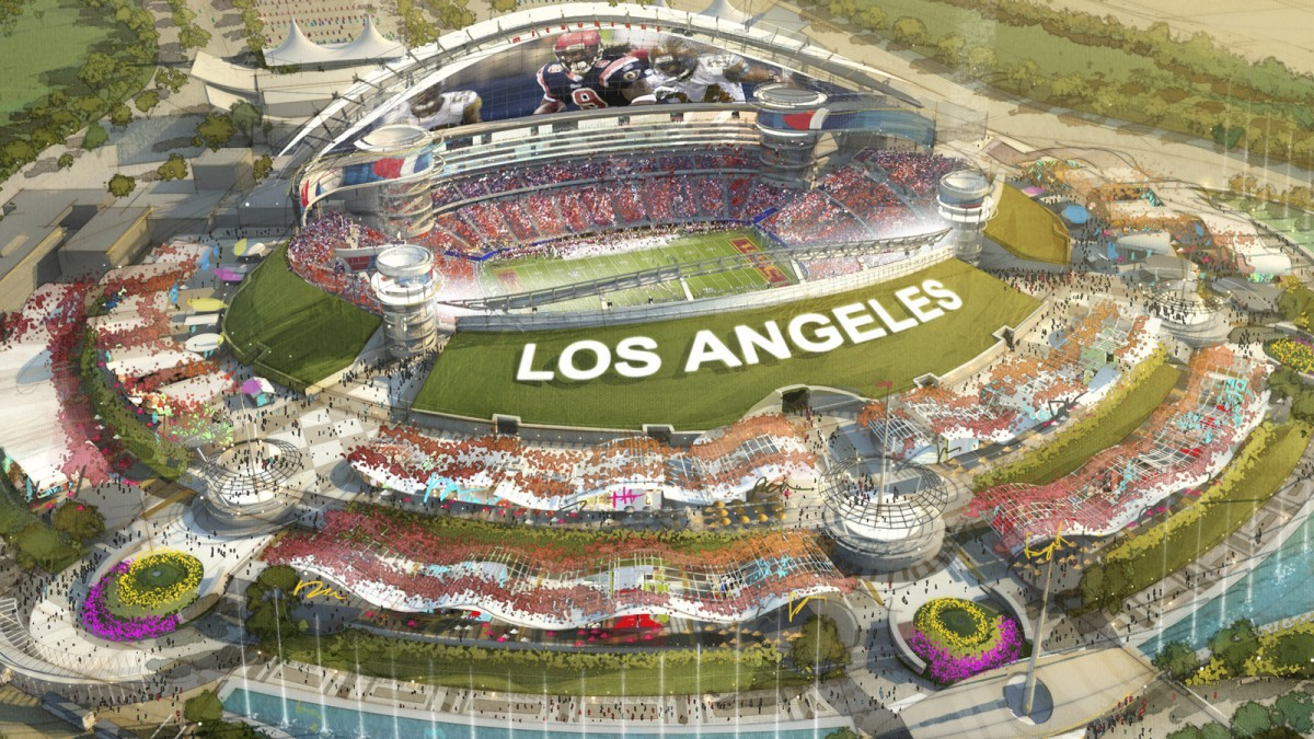 Los Angeles To Add Another Nfl Team Because The Rams Just