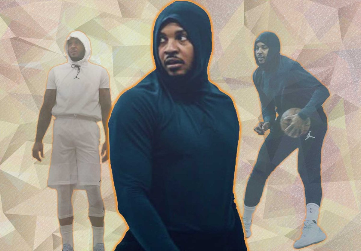'Hoodie Melo' Is The Hero Knicks Fans Need